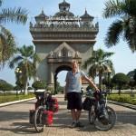 Steven Groothuismink in Laos