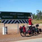 Steven Groothuismink in de Australische outback